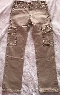 "Fantastic Pair Of Boys Beige LEVI'S Age 12 Years (26""W 26""L)"