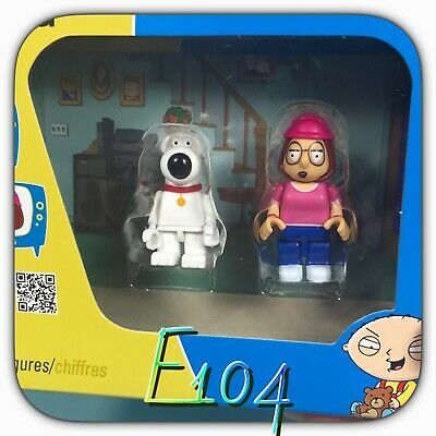 10064it action figure GRIFFIN Family Guy lotto job lot brian stewie lois peter