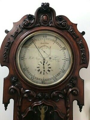 Antique Longcase Precision Regulator Clock