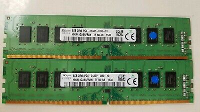 Genuine SK Hynix 16GB (2x8GB) 2RX8 PC4-2133P-RED-10 DDR4 2400MHz ECO
