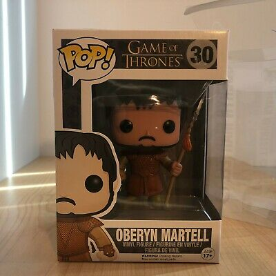 Funko Pop! Game of Thrones Oberyn Martell Vaulted/Retired #30 (NIB w/ Protector)