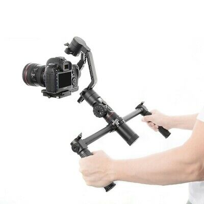 Dual Handheld Gimbal Stabilizer Accessories 1/4 Screw Hole Grips For Crane 2