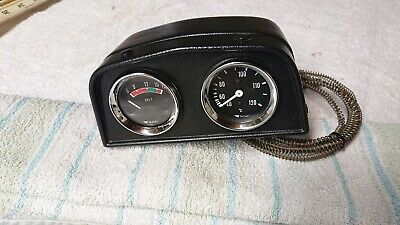 Yazaki volt and water Gauges nos mount Morris ford Mini Austin vauxhall triumph
