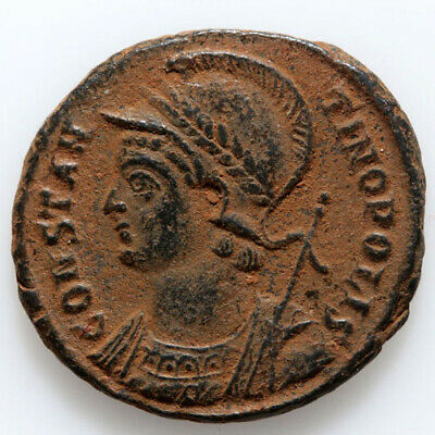 Roman coin AE Constantine The Great Commemorative NIKE 3rd Period Antioch