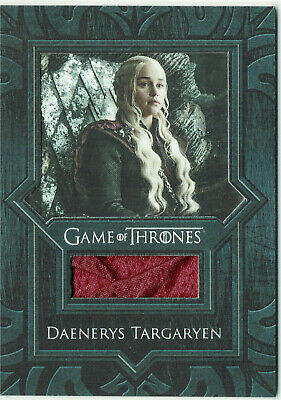 Game of Thrones Inflexions Relic Costume Card VR9 Daenerys Targaryen