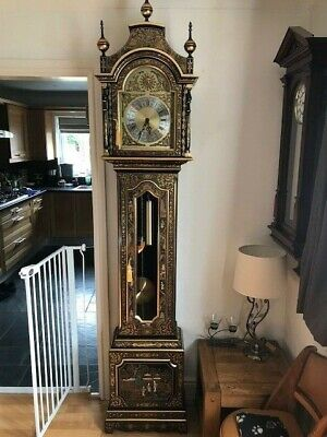 Chinoiserie Longcase Clock (Reproduction)