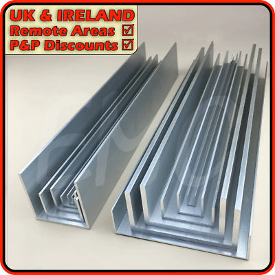 Aluminium Channel║DISCOUNTED due to defect║(U C section, gutter, profile)