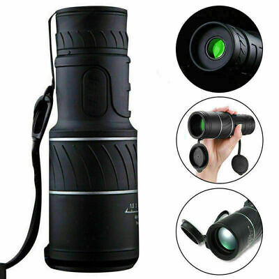 40x60 Portable HD Optical Monocular Telescope Day/Night Vision Hunting Camping