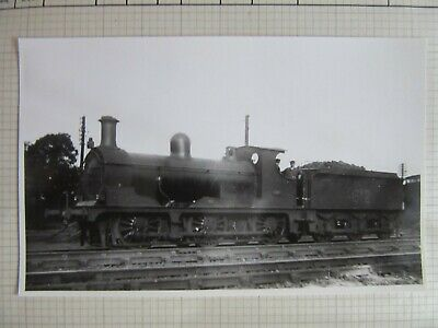 Vintage Railway Photo SECR Kirkley B1 0-6-0 1877 Loco fc73l