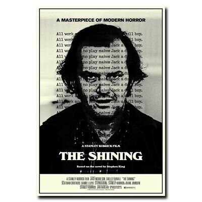 The Shinning 12x18inch Classic Horror Movie Silk Poster Cool Gifts