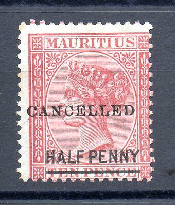 Classic Stamp Mauritius 1876 Cancelled