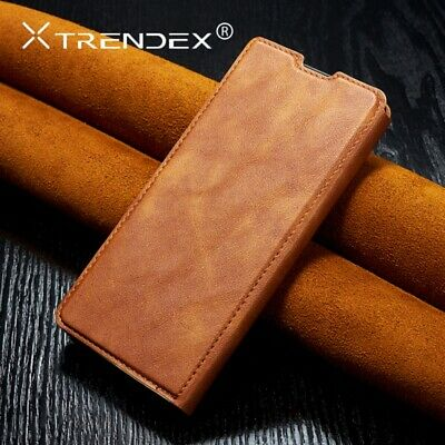 For OnePlus 7 Pro Card Case Genuine TRENDEX Magnetic Leather Wallet Flip Cover