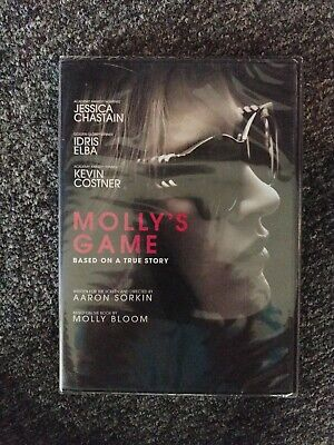Mollys Game Brand New Sealed Widescreen Edition DVD