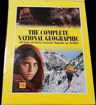The Complete National Geographic 108 Years of National Geographic Magazine on CD