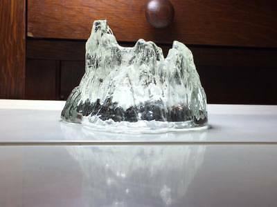 Nybro iceberg candle holder Made in Sweden