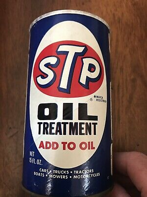 STP OIL TREATMENT 15 Oz  Fights Motor Oil, Reduces Engine