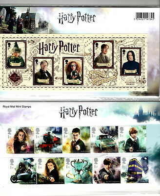 GB 2018 Harry Potter Presentation Pack No. 562 + Mini Sheet. (15 x First Class)