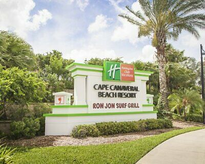 Holiday Inn Cape Canaveral Beach resort studio rental March 28 - April 4, 2020!!