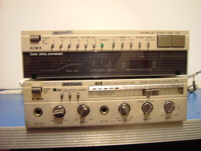 Aiwa FM.MW/LW Stereo Tuner & Stereo Integrated Amplifier SA-A35K / ST-R35K