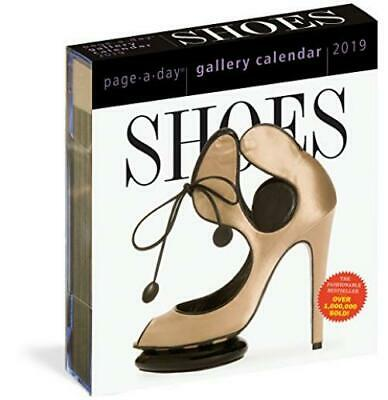 Shoes Page-A-Day Gallery Calendar 2019 – Day to Calendar, 19...