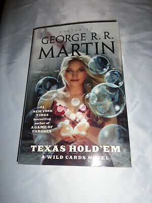 Texas Hold'em A Wild Cards Novel by George R R Martin SIGNEDx2 1st/1st 2018 HCDJ