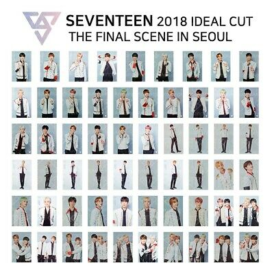 SEVENTEEN - 2018 IDEAL CUT FINAL SCENE IN SEOUL Official Trading Photocard