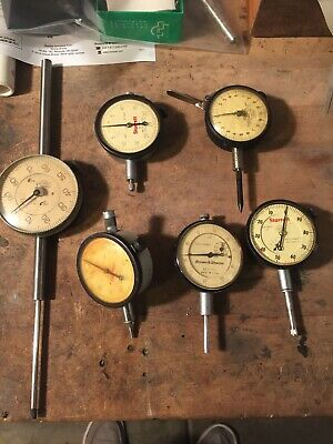 starrett dial indicators, plus Browne and sharp