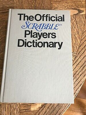 Vintage! THE OFFICIAL SCRABBLE PLAYERS DICTIONARY - Selchow & Righter Co. 1978