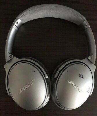 Bose Quietcomfort 35 Series Ii Wireless Noise Cancelling Headphone Silver Qc35