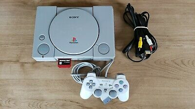 Modded Sony PlayStation 1 PS1 PSX SCPH-9001 NTSC TESTED AND WORKING