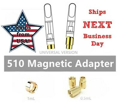 MAGNETIC RING CAP Adapter Universal Replacement Brass 3 X