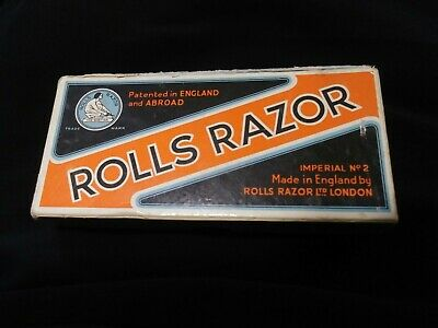 ANTIQUE ROLLS RAZOR IMPERIAL NO. 2, MADE IN ENGLAND No Instructions