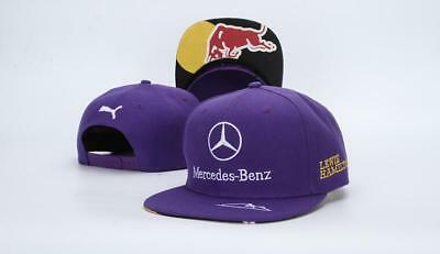 NEW 2019 Mercedes AMG F1 Adults Lewis Hamilton Baseball Cap Hat  R1