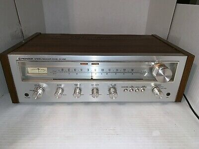 Pioneer Vintage Stereo Receiver SX-450 Tested In Good Working Condition.