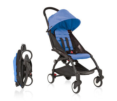 BabyZen Yoyo Blue Seat Pad and Hood | Stroller Sold Separately