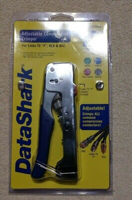 Data Shark Adjustable Compression Crimper #70063
