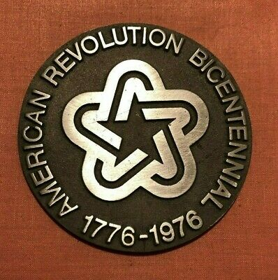 American Revolution Bicentennial Cast Aluminum Logo for Historic Site Signs
