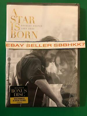 A STAR IS BORN DVD *AUTHENTIC READ DESCRIPTION* W/BONUS DISC New Free Shipping