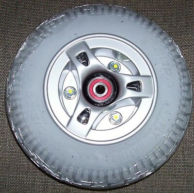 Mobility Scooter Tires (2.80/2.50-4)~ AIR Filled~ With Hub/Bearings NEW