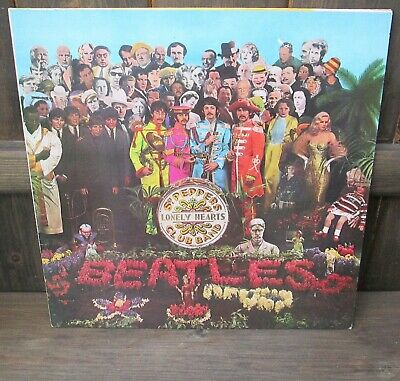 The Beatles: Sgt. Pepper's Lonely Hearts Club Band Vinyl LP 1984 UK Reissue