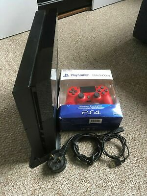 Sony PS4 Black Console 500GB CHU-1003A Brand New Controller