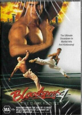 BLOODSPORT 4 - THE DARK KUMITE (All Region DVD) AS NEW FREE POST