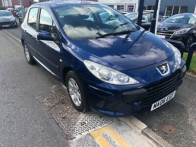 Peugeot 307 1.6s 5 door very low mileage 06 registration @NO RESERVE @