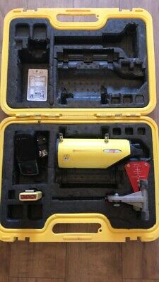 Leica Piper 100 Pipe Laser C/w Target Battery, Charger & Remote Cased