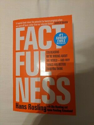 Factfulness by Hans Rosling Paperback