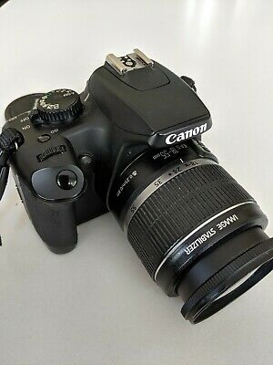 Canon EOS 1000D Camera 18-55 EFS Lens, for Spares & Repairs.