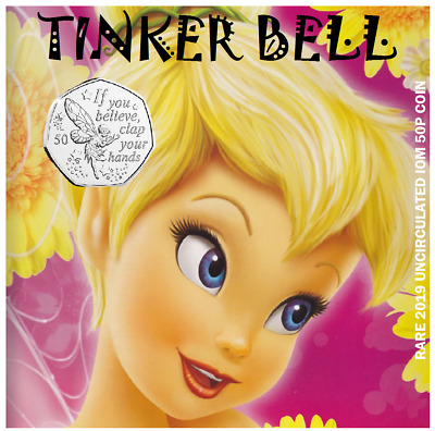 50p IOM 2019 TINKERBELL PRE-ORDER (VERY POPULAR)(ONLY ONE FOR SALE)GREAT GIFT