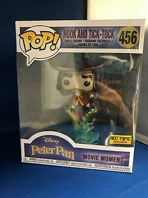 FUNKO POP Peter Pan Captain Hook and Tick-Tock #456 Movie Moment