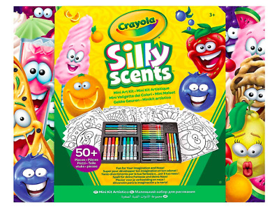 Crayola Silly Scents Scented Mini Art Case Set
