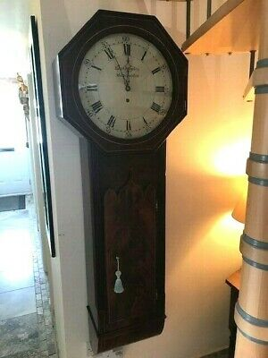 Antique Norwich Style Wall Clock